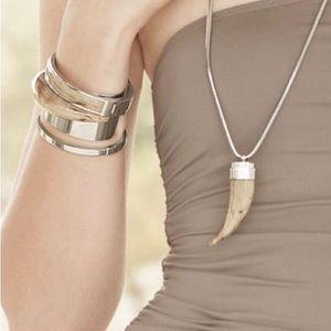 Michael Kors 'Safari Glam' Horn Necklace & Cuff
